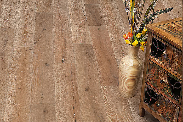 Naturally Aged Flooring - Wirebrushed Series